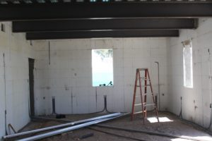 Steel and concrete are good barrier and sound isolation materials