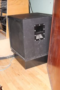 Activated Carbon Diaphragmatic Absorber Platform For Sub Woofers