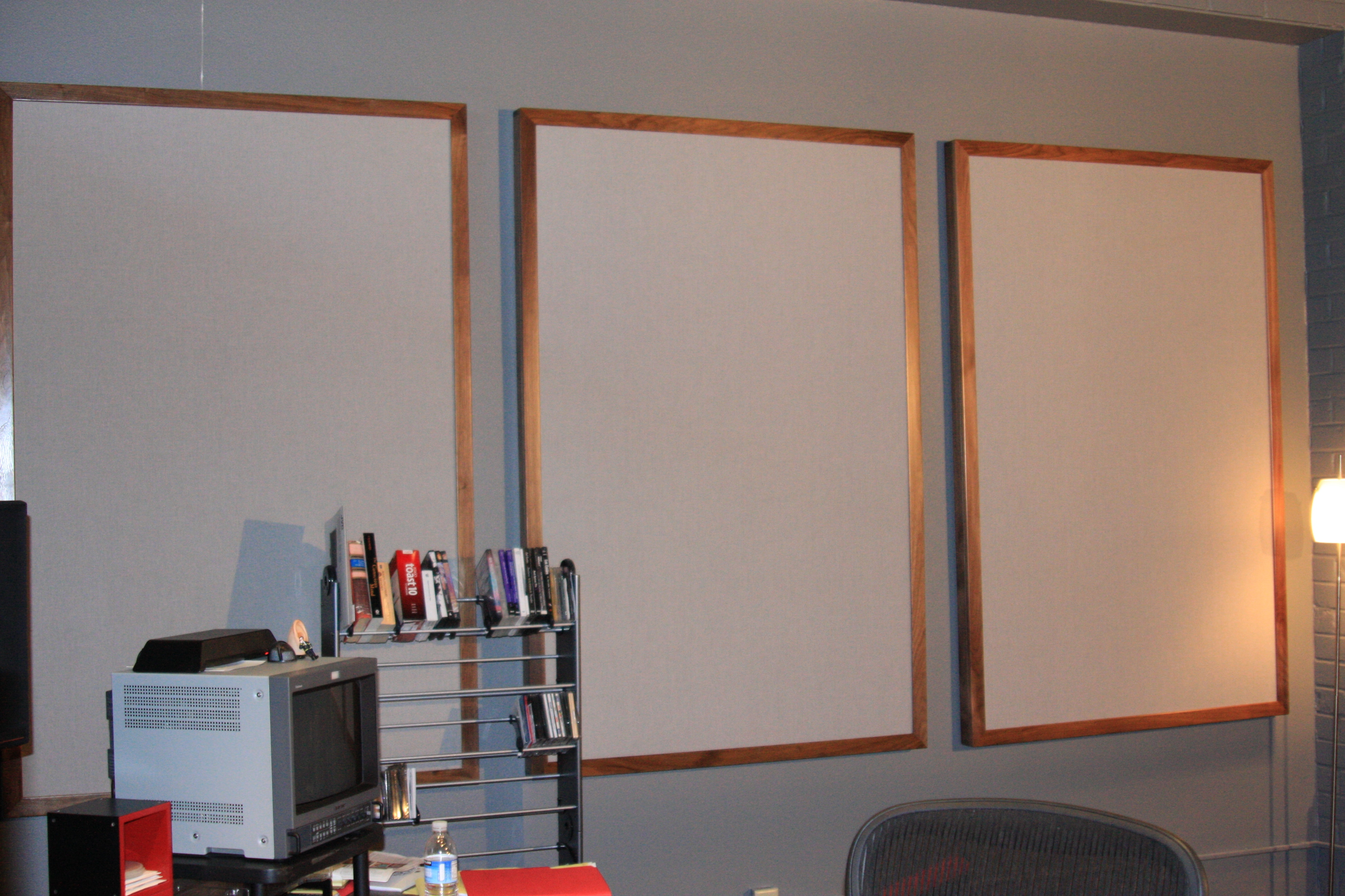 Side wall Absorbing panels