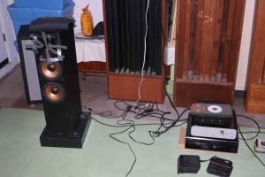 Left channel speaker