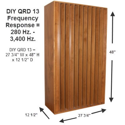 DIY QD 13 Kit measurements