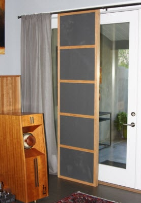 sound absorbing panels for windows