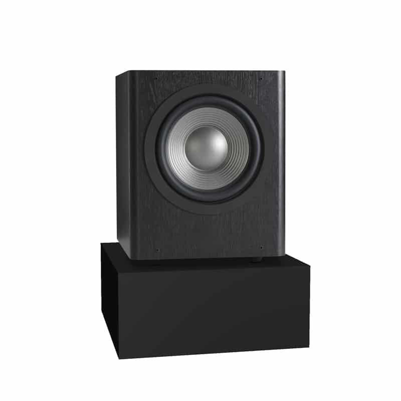subwoofer absorber platform acoustic treatment