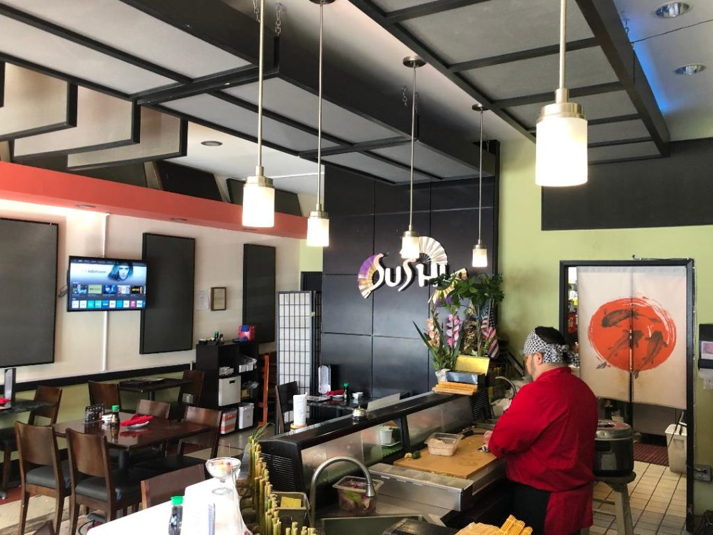 Treating Acoustic Reverberation in a restaurant