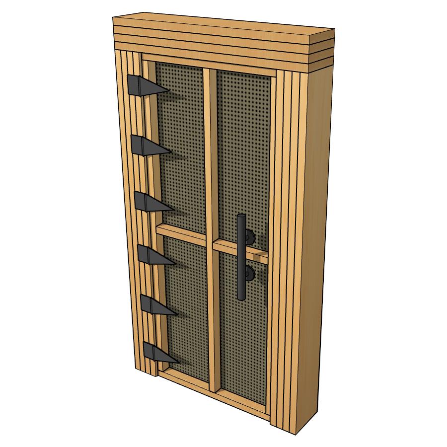 soundproof door design by Acoustic Fields